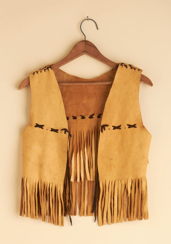 Vintage Hula Hoop and Holler Vest