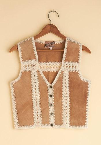 Vintage Bonfire Potluck Vest