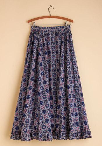 Vintage Proud Prairie Skirt