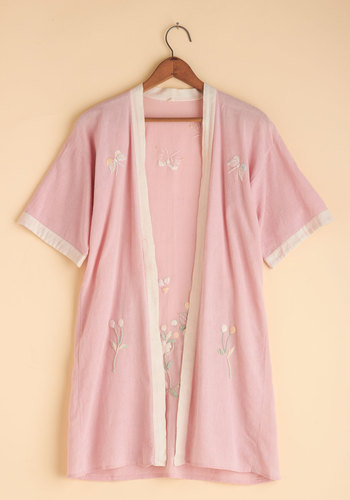 Vintage Sunrise Yoga Session Robe