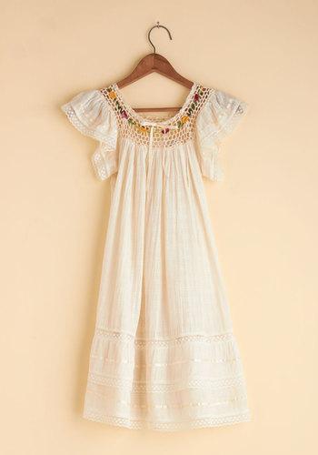 Vintage Peace and Harmonica Dress