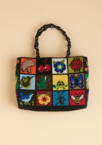 Vintage Applause of Nature Bag