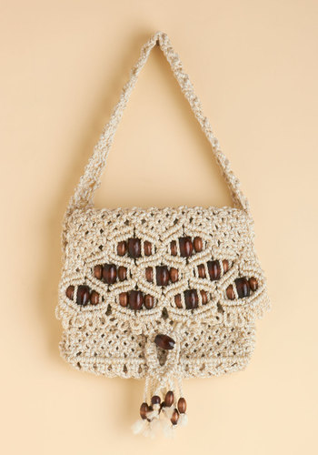 Vintage Macrame My Day Bag