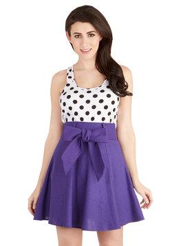Musee Matisse Skirt in Violet