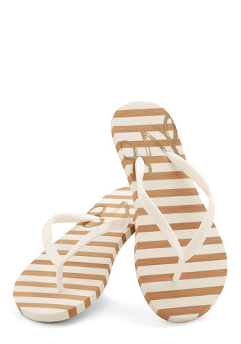 Go Boardwalking Sandal in White by Dolce Vita - Flat, White, Casual, Beach/Resort, Summer, Variation