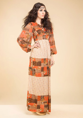 Vintage Stand by Your Mandolin Dress