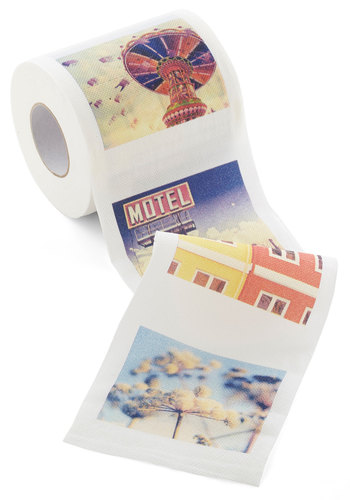 Developing Your Decor Toilet Tissue - Multi, Quirky, Good, Novelty Print, Vintage Inspired