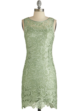 A Sweet Aperitif Dress in Mint