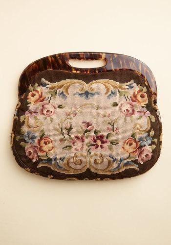 Vintage Scone Roses Bag