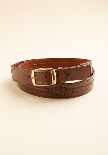Vintage Dobro, a Deer Belt