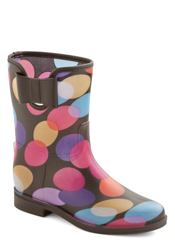 Cool in These Shades Boot - Low, Multi, Print, Casual, Spring