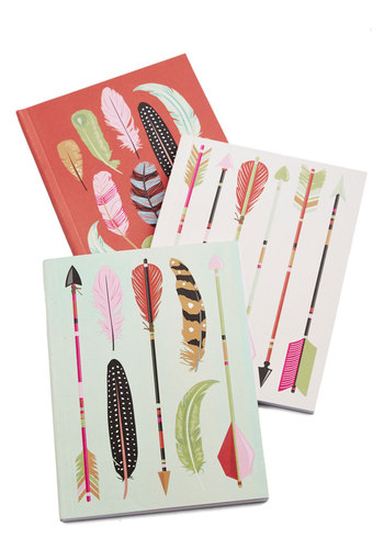 Archery Champ Journal Set - Multi, Rustic, Good, Novelty Print, Summer