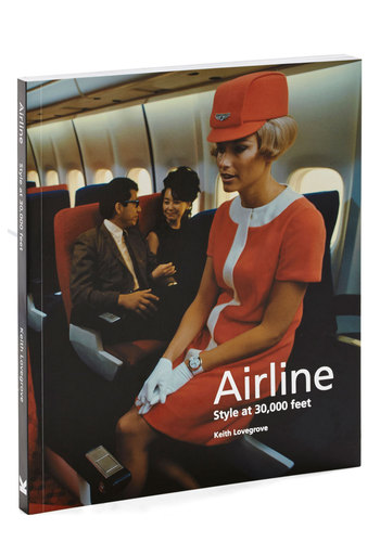 Airline: Style at 30,000 Feet by Chronicle Books - Multi, Vintage Inspired, 60s, Mod, Good