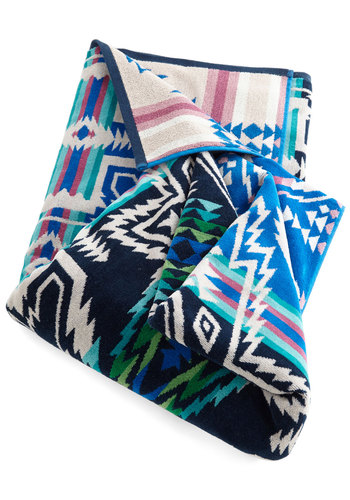 Pendleton Daydream Achiever Towel by Pendleton - Cotton, Woven, Multi, Boho, Festival, Better, Print, Guys, Summer