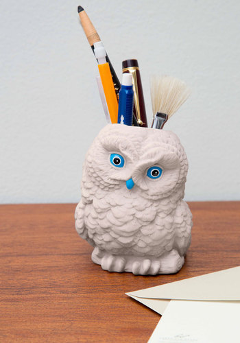 Hootin' and Holdin' Desk Organizer - Good, Graduation, Under $20, Top Rated, Critters