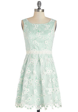 Mint for the Stage Dress