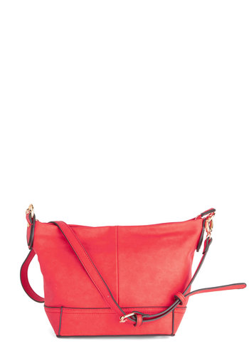 Phenomenal Freelancer Bag - Red, Solid, Faux Leather, Americana, Social Placements, Work, Luxe, Urban, Party