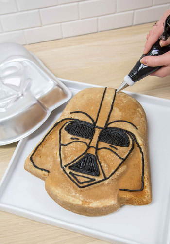Darth Flavor Cake Pan - Silver, Sci-fi, Nifty Nerd, Good, Guys