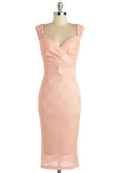 Lady Love Song Dress in Pink Lace
