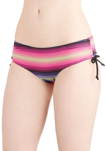 Hammock on the Beach Swimsuit Bottom - Good, Multi, Stripes, Beach/Resort, Summer, Knit