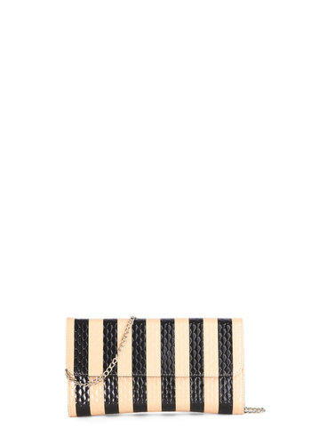 Dapper and You Know It Bag - Stripes, Daytime Party, Tan / Cream, Black, Party, Special Occasion