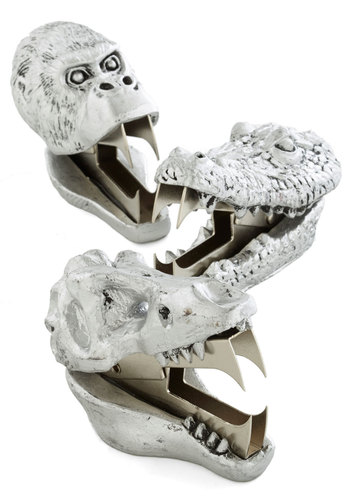 Go and Grab a Bite Staple Remover - Silver, Quirky, Good, Critters, Guys