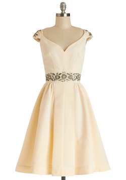 Shindig by the Skyline Dress in Ivory