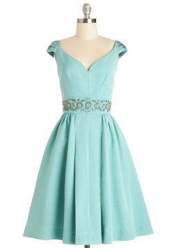 Shindig by the Skyline Dress in Aqua