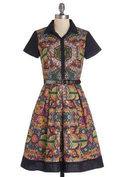 Shimmer Camp Dress