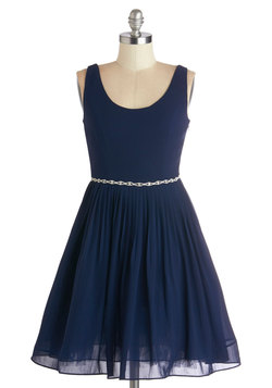 Sage a Dance Dress in Navy