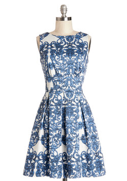Ain't We Haute Fun? Dress in Paisley