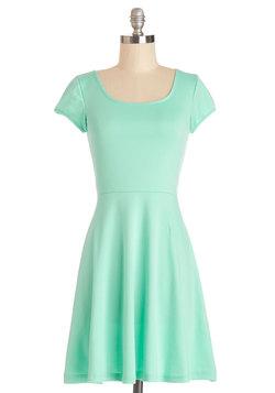 Awe-Inspiring Aqua Dress