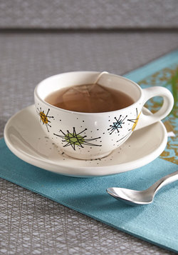 Creation of Caffeination Cup and Saucer Set