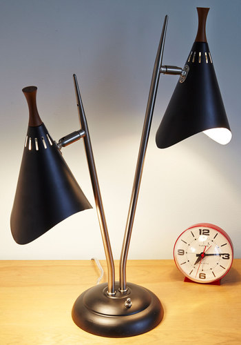 Madison Avenue Ideas Lamp - Multi, Mid-Century, Best, Solid, Graduation, Guys