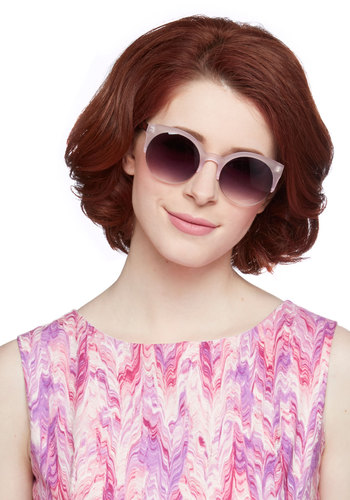 Shield My Sunshine Sunglasses in Rose - Pink, Brown, Solid, Casual, Pastel, Variation, Pink, Spring, Summer, Americana, Social Placements