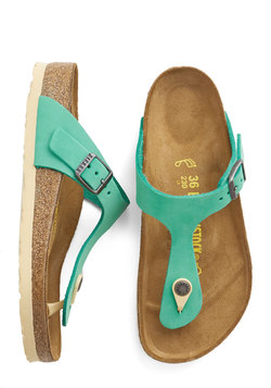 Turquoise by the Sea Sandal