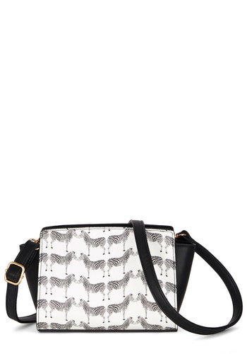 One Posh Pack Bag - White, Black, Print with Animals, Better, White, Critters
