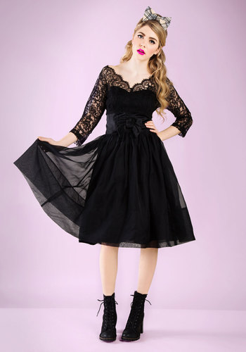 Vintage Pretty in Ink Dress