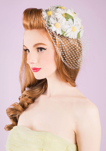 Vintage Archway We Go Fascinator