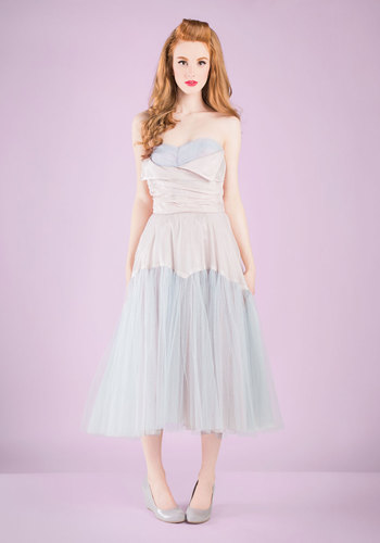 Vintage Prom-pose a Toast Dress