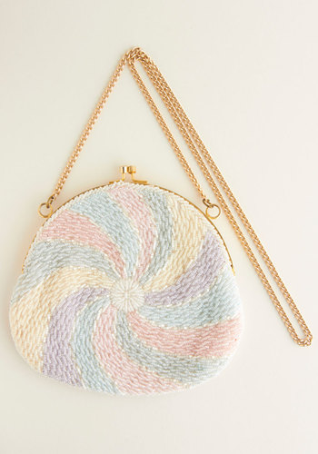 Vintage Swirl of the Hour Bag