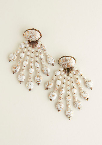 Vintage Shimmy and Sparkle Earrings