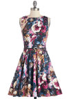 Luck Be a Lady Dress in Bouquet