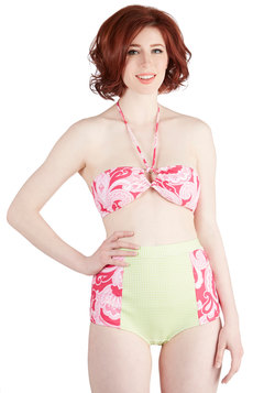 Panoramic Picture Two-Piece Swimsuit