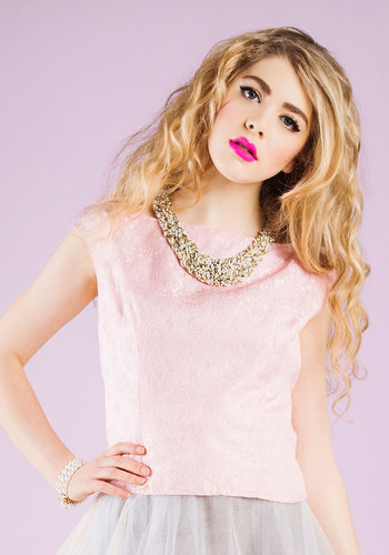 Vintage Glitz and Shout Top