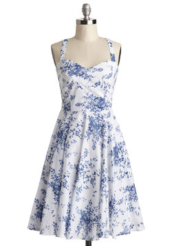 Garden Home Tour Dress in Delft