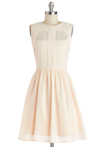 Mingling Magic Dress - Pink, Solid, Exposed zipper, Pockets, Special Occasion, Prom, A-line, Sleeveless, Better, Scoop, Woven, Pastel