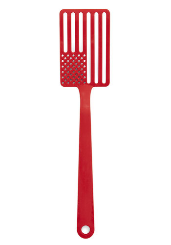 Red, White, And BBQ Spatula - Red, Americana, Good, Solid, Summer