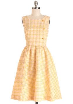 Picnic Poise Dress