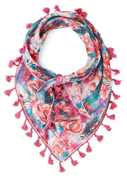 Backyard Potluck Scarf in Pink